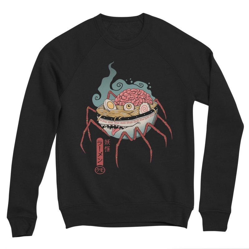Yokai Ramen Men's Sponge Fleece Sweatshirt by Vincent Trinidad Art