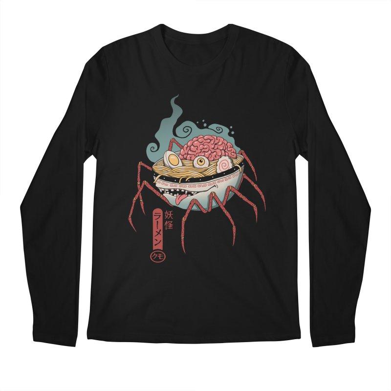 Yokai Ramen Men's Regular Longsleeve T-Shirt by Vincent Trinidad Art