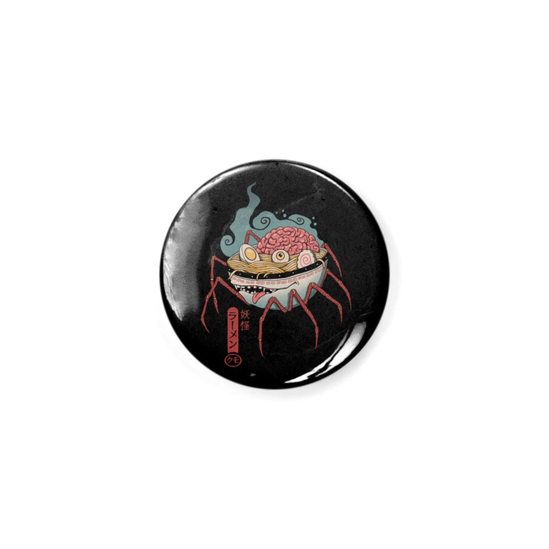 Yokai Ramen Accessories Button by Vincent Trinidad Art