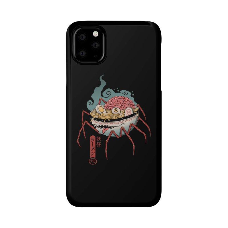 Yokai Ramen Accessories Phone Case by Vincent Trinidad Art