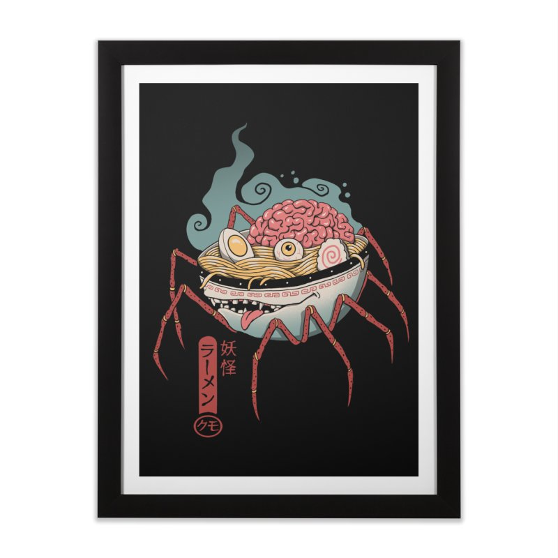 Yokai Ramen Home Framed Fine Art Print by Vincent Trinidad Art