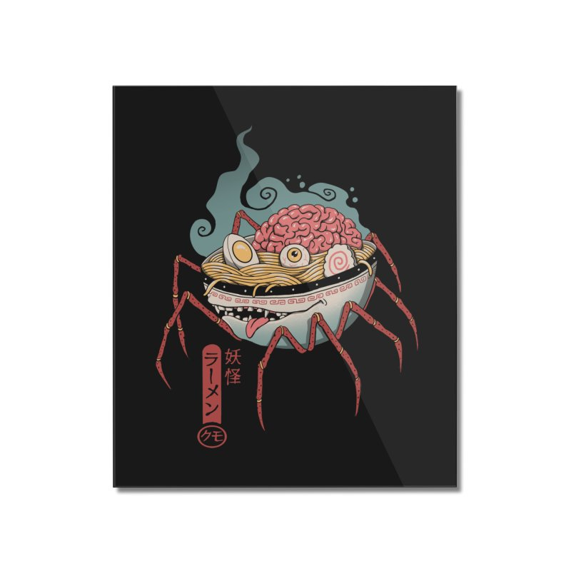 Yokai Ramen Home Mounted Acrylic Print by Vincent Trinidad Art