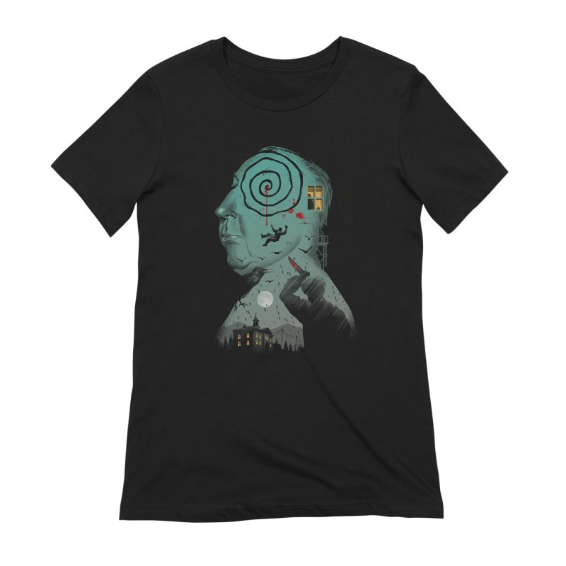 Master of Suspense Women's Extra Soft T-Shirt by Vincent Trinidad Art