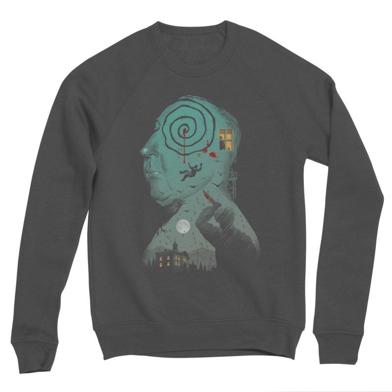 Master of Suspense Men's Sponge Fleece Sweatshirt by Vincent Trinidad Art