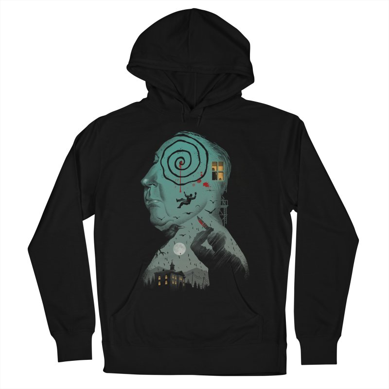 Master of Suspense Women's French Terry Pullover Hoody by Vincent Trinidad Art