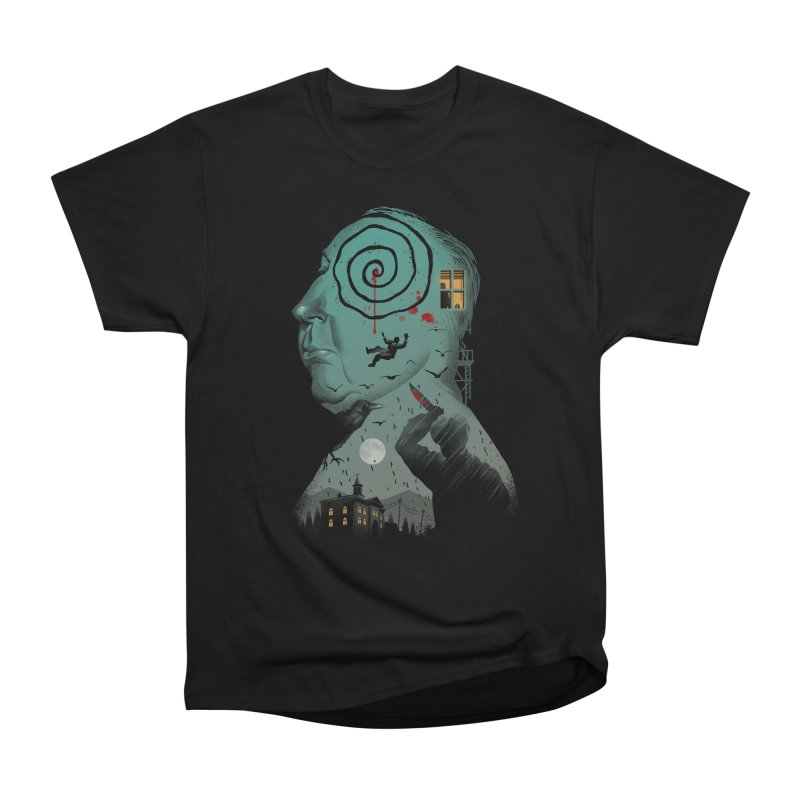 Master of Suspense Women's Heavyweight Unisex T-Shirt by Vincent Trinidad Art