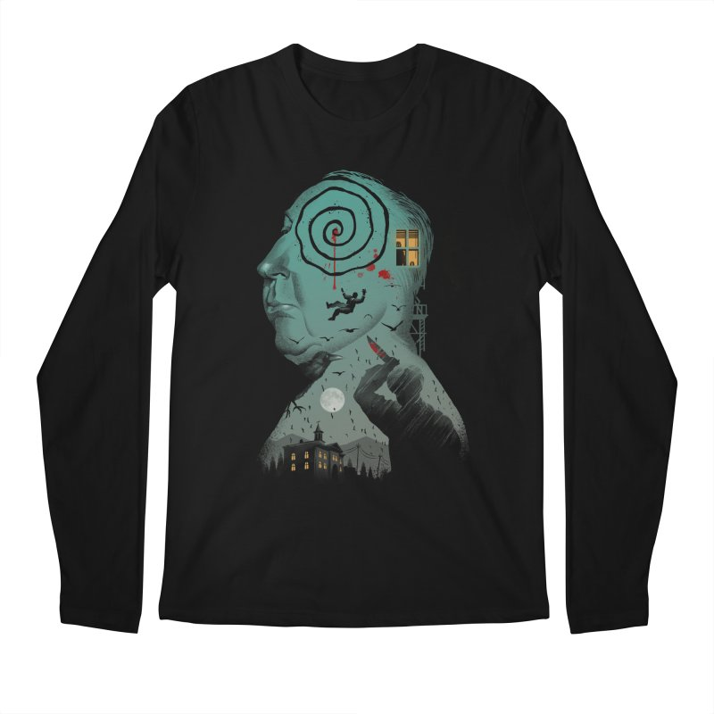 Master of Suspense Men's Regular Longsleeve T-Shirt by Vincent Trinidad Art
