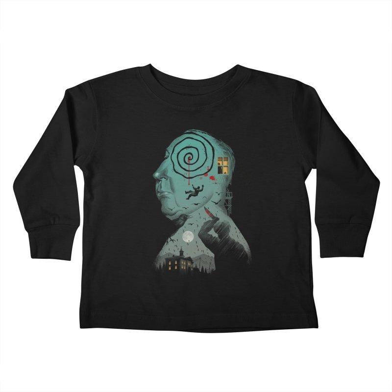 Master of Suspense Kids Toddler Longsleeve T-Shirt by Vincent Trinidad Art