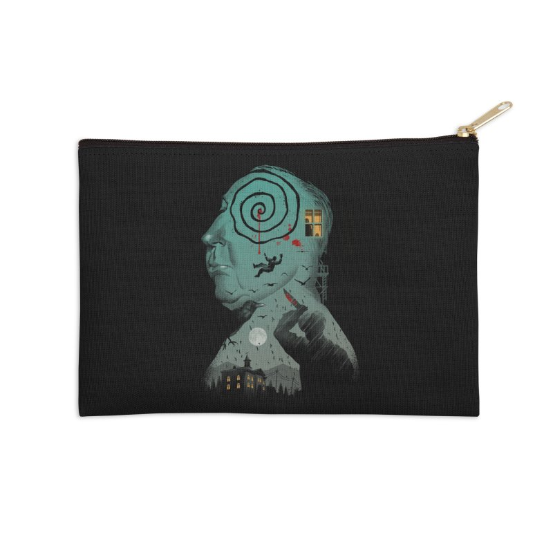 Master of Suspense Accessories Zip Pouch by Vincent Trinidad Art