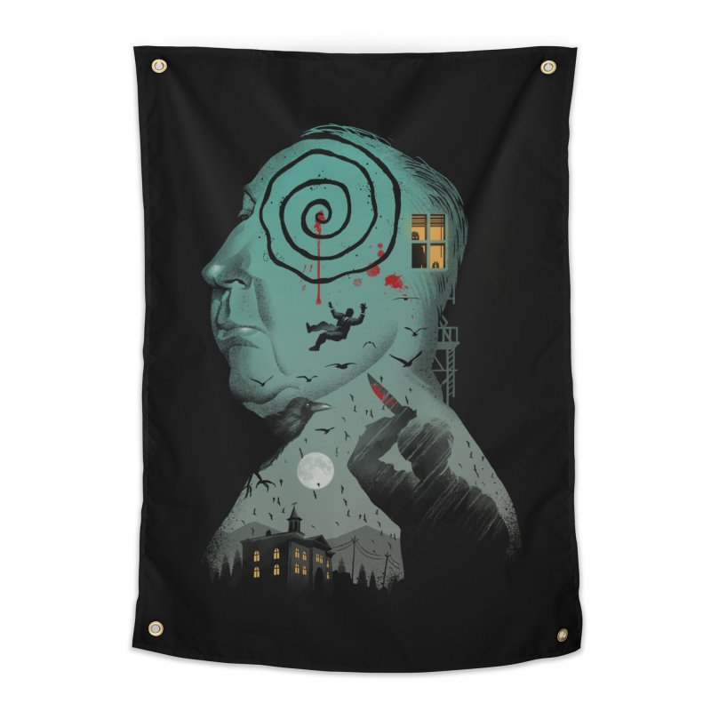 Master of Suspense Home Tapestry by Vincent Trinidad Art