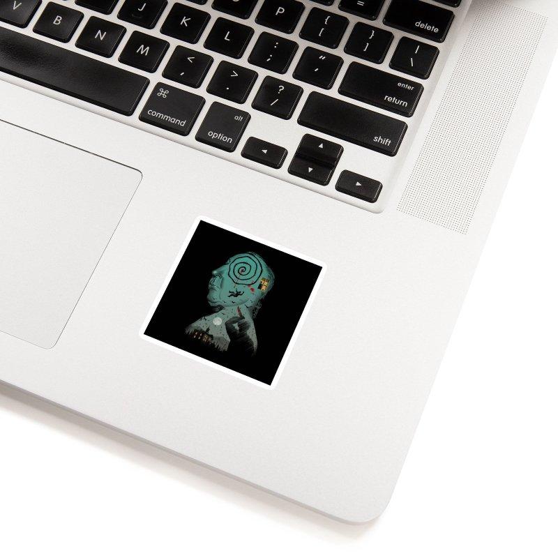 Master of Suspense Accessories Sticker by Vincent Trinidad Art