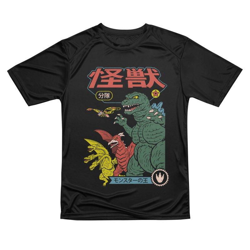 Kaiju Sentai Women's Performance Unisex T-Shirt by Vincent Trinidad Art