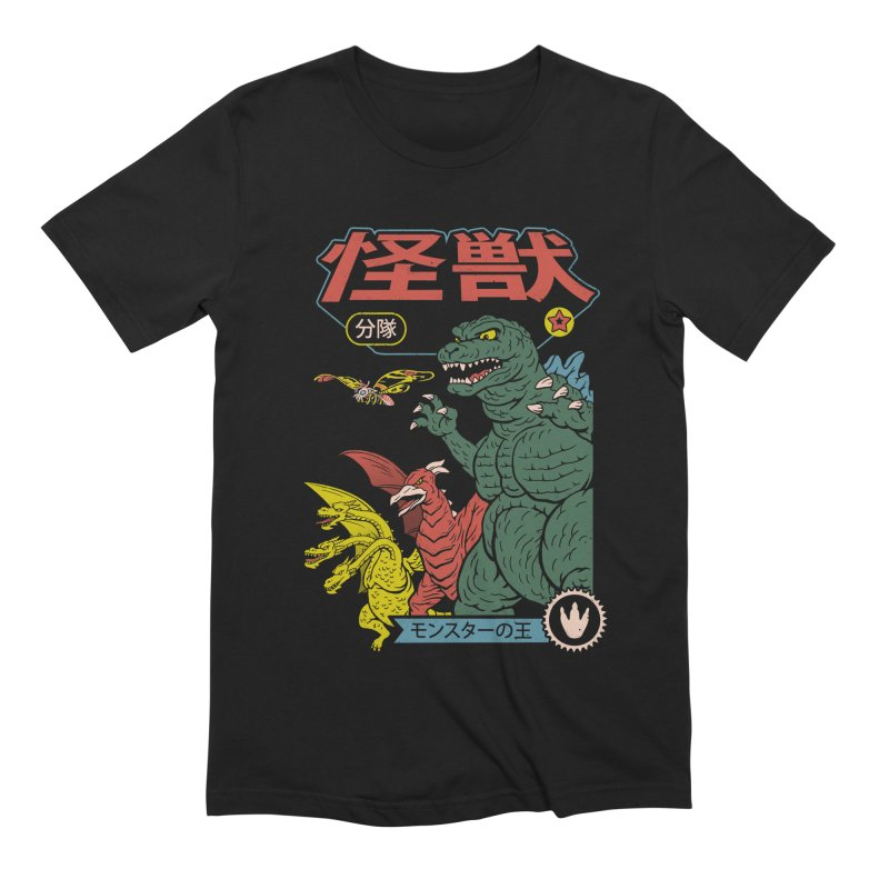 Kaiju Sentai Men's Extra Soft T-Shirt by Vincent Trinidad Art