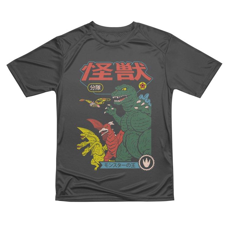 Kaiju Sentai Men's Performance T-Shirt by Vincent Trinidad Art