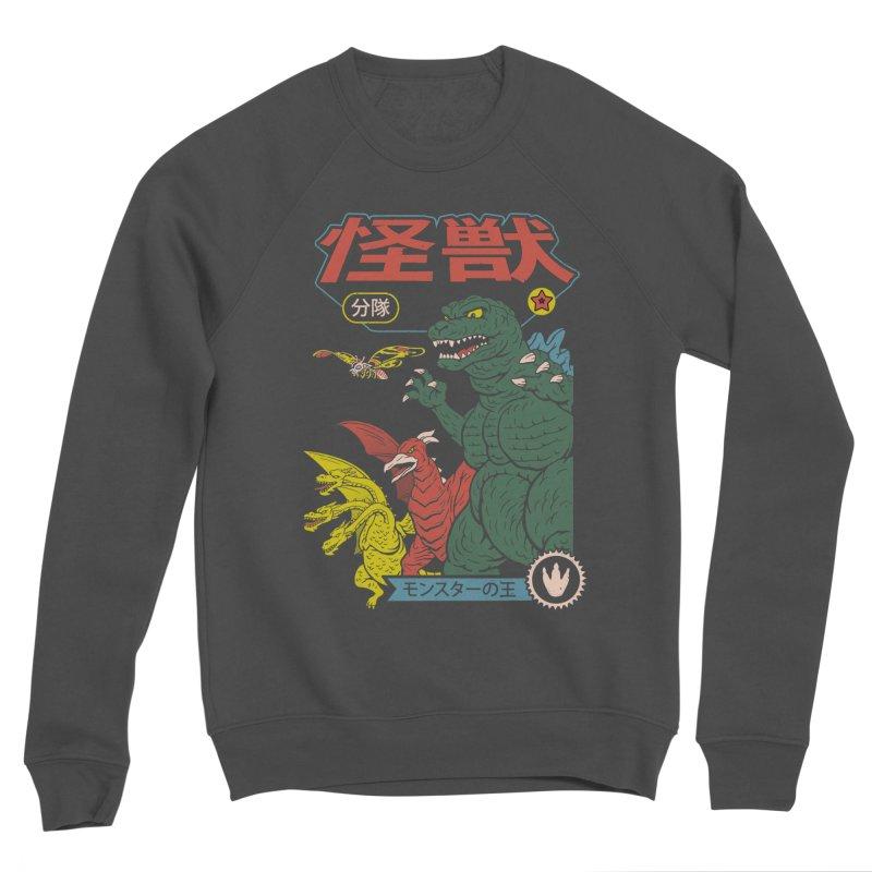 Kaiju Sentai Women's Sponge Fleece Sweatshirt by Vincent Trinidad Art