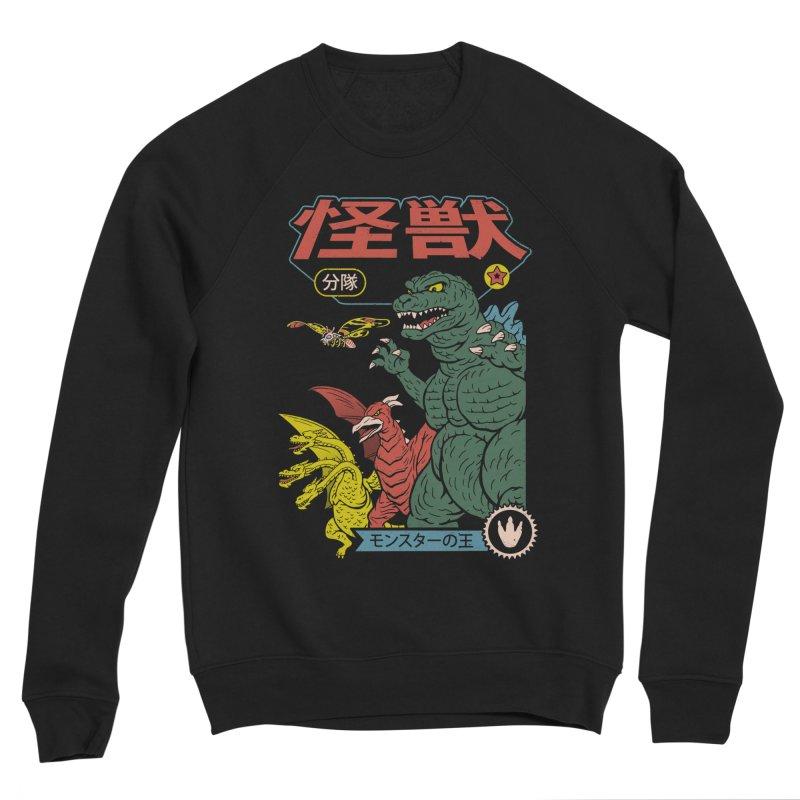 Kaiju Sentai Men's Sponge Fleece Sweatshirt by Vincent Trinidad Art