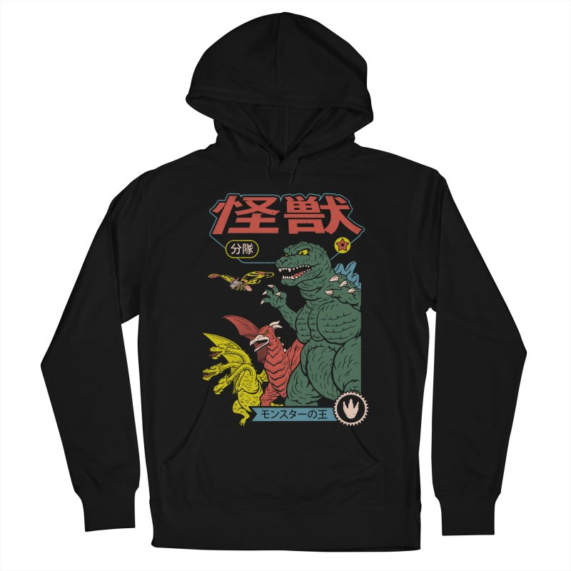 Kaiju Sentai Men's French Terry Pullover Hoody by Vincent Trinidad Art