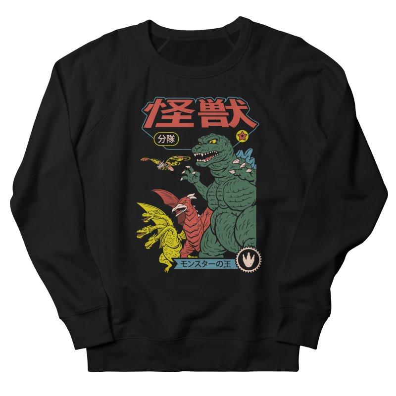 Kaiju Sentai Women's French Terry Sweatshirt by Vincent Trinidad Art