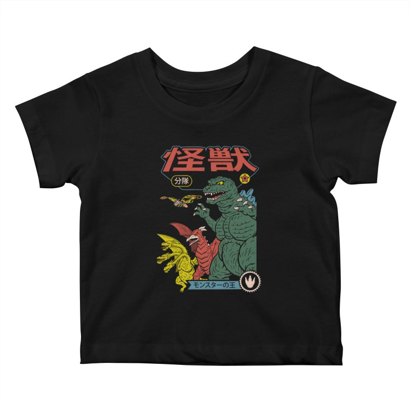 Kaiju Sentai Kids Baby T-Shirt by Vincent Trinidad Art
