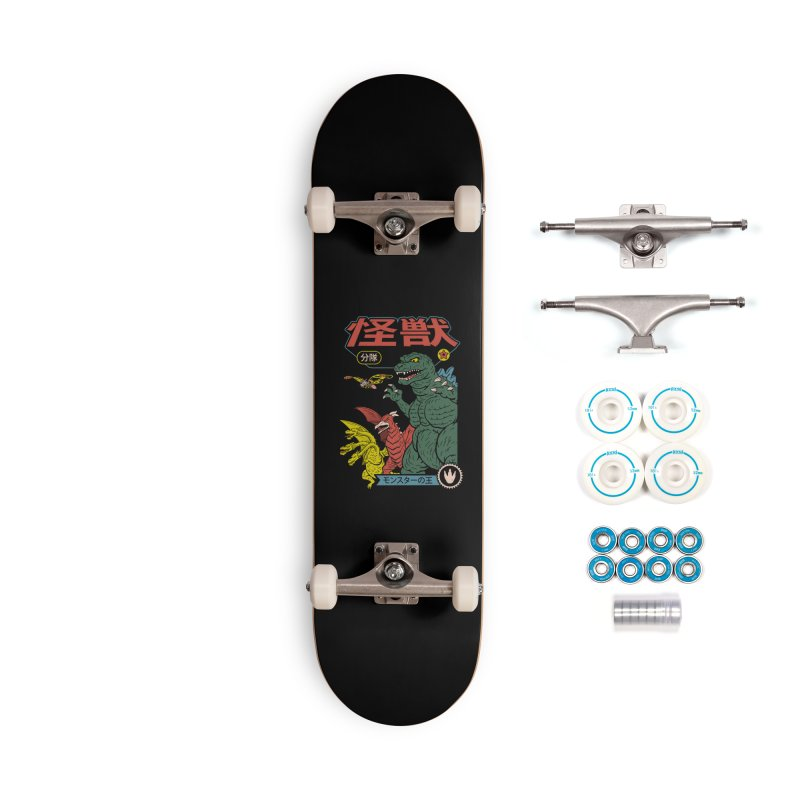 Kaiju Sentai Accessories Complete - Basic Skateboard by Vincent Trinidad Art