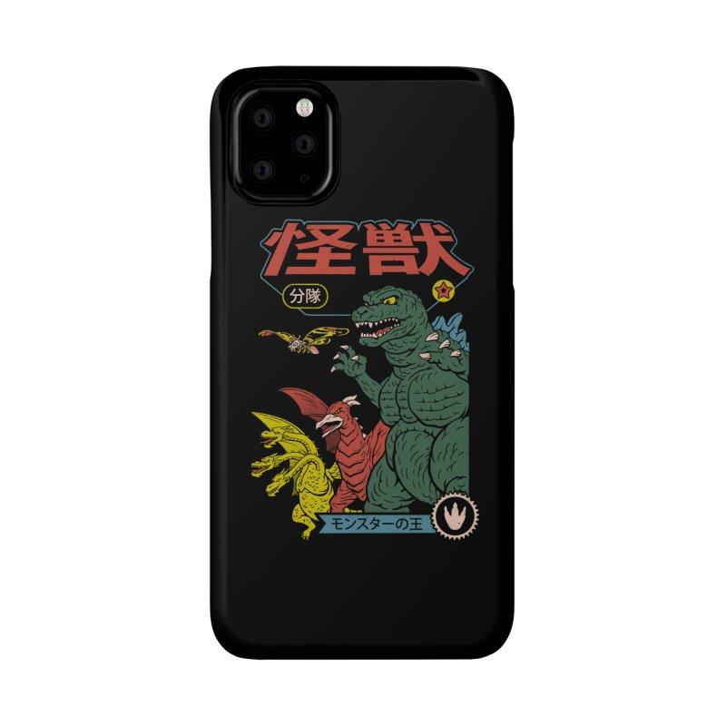 Kaiju Sentai Accessories Phone Case by Vincent Trinidad Art