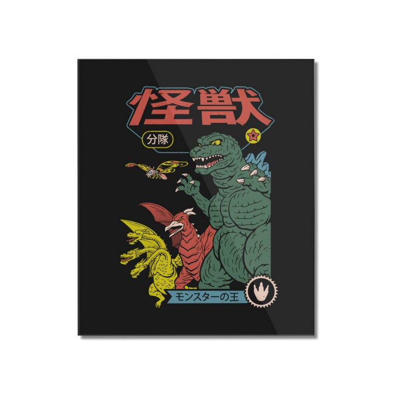 Kaiju Sentai Home Mounted Acrylic Print by Vincent Trinidad Art