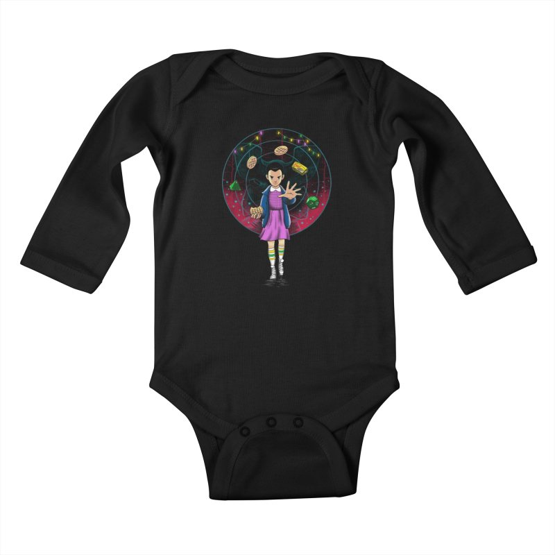 The Experiment Kids Baby Longsleeve Bodysuit by vincenttrinidad's Artist Shop