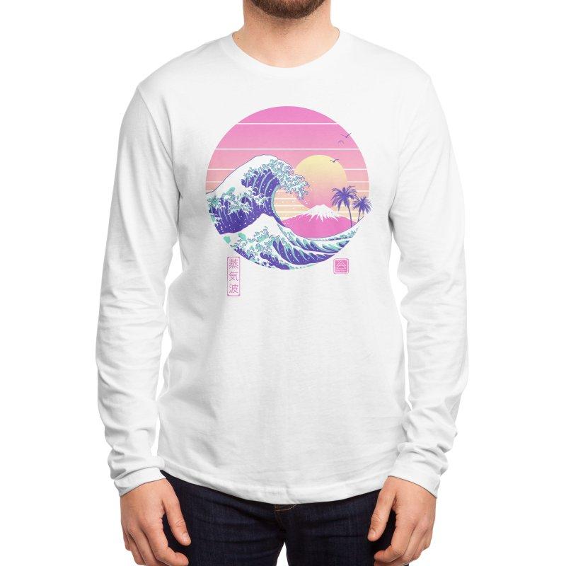 The Great Vaporwave Men's Longsleeve T-Shirt by Vincent Trinidad Art