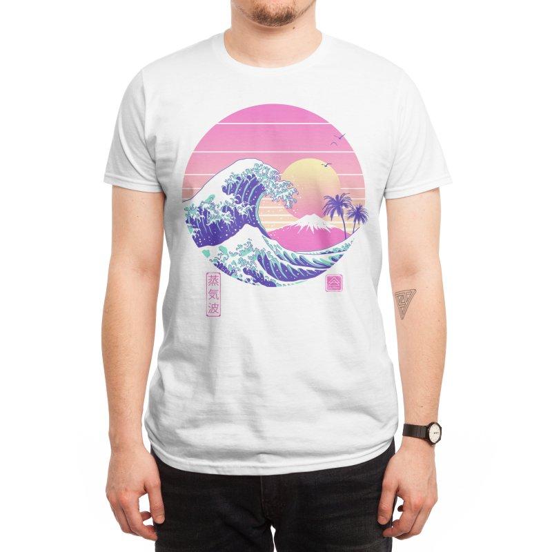 The Great Vaporwave Men's T-Shirt by Vincent Trinidad Art