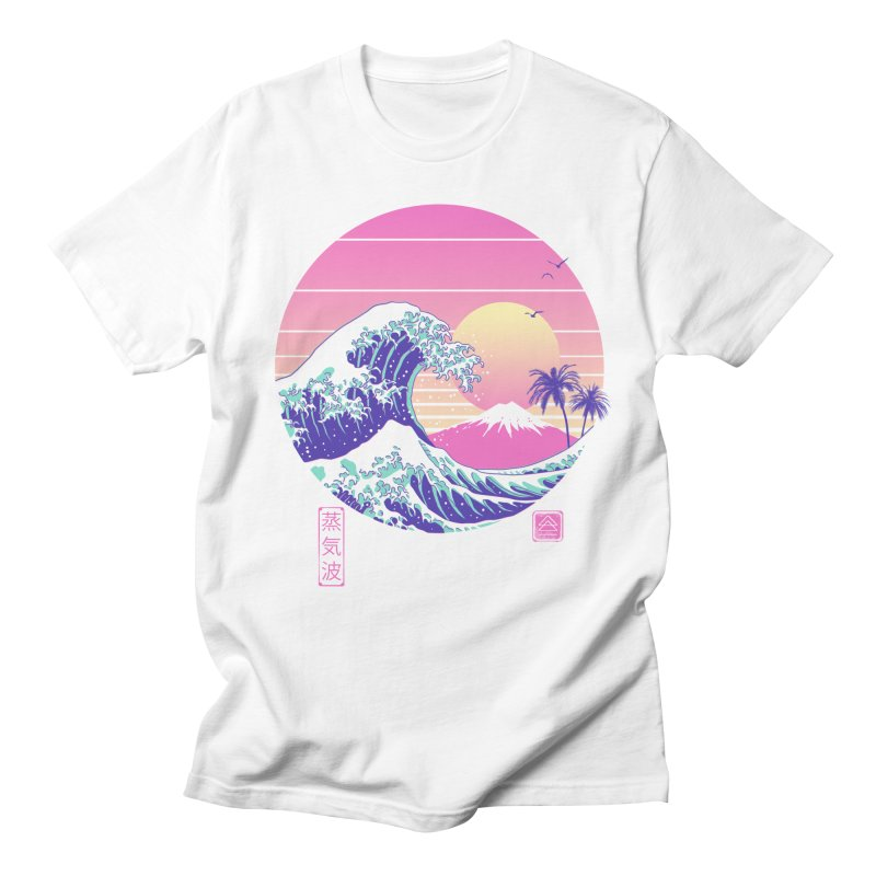 The Great Vaporwave Men's T-Shirt by Vincent Trinidad Art