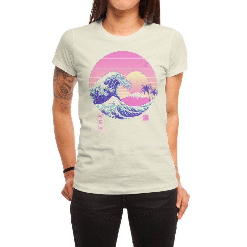 The Great Vaporwave Women's T-Shirt by Vincent Trinidad Art