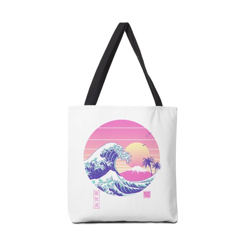 The Great Vaporwave Accessories Bag by Vincent Trinidad Art