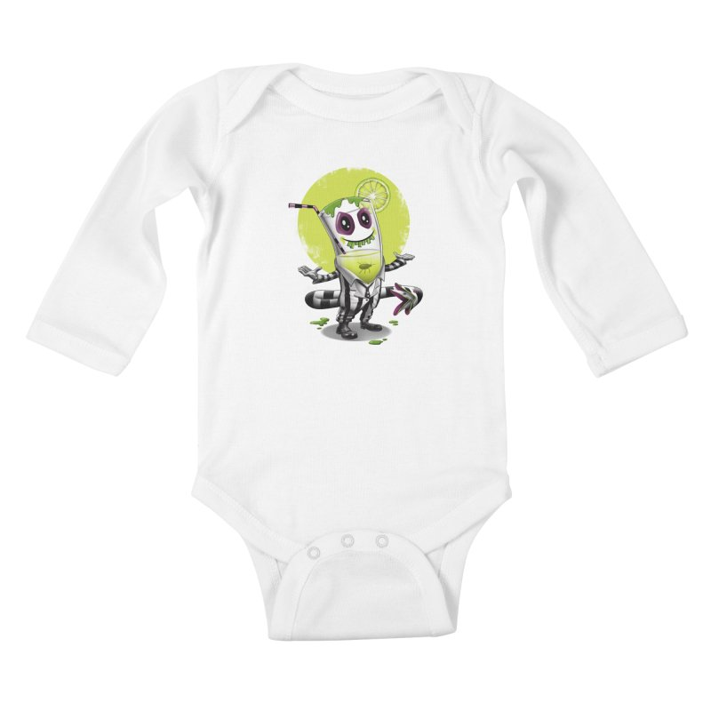 Beetle Juice Kids Baby Longsleeve Bodysuit by vincenttrinidad's Artist Shop
