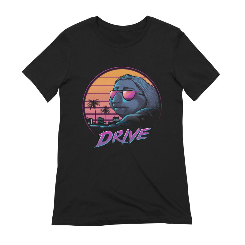 Slow Drive Women's Extra Soft T-Shirt by Vincent Trinidad Art