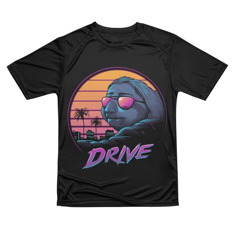 Slow Drive Men's Performance T-Shirt by Vincent Trinidad Art