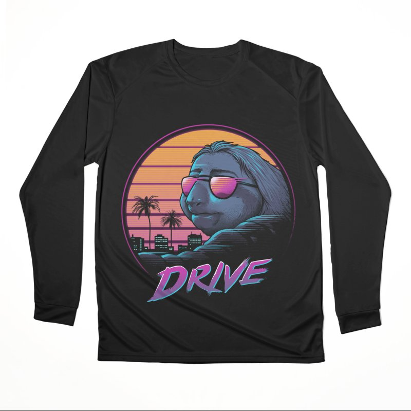 Slow Drive Men's Performance Longsleeve T-Shirt by Vincent Trinidad Art