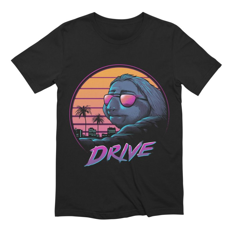 Slow Drive Men's Extra Soft T-Shirt by Vincent Trinidad Art
