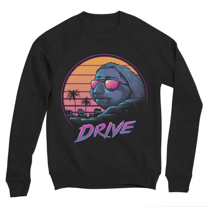 Slow Drive Men's Sponge Fleece Sweatshirt by Vincent Trinidad Art