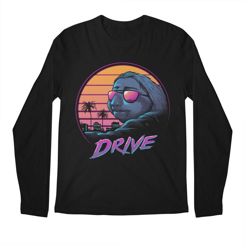 Slow Drive Men's Regular Longsleeve T-Shirt by Vincent Trinidad Art