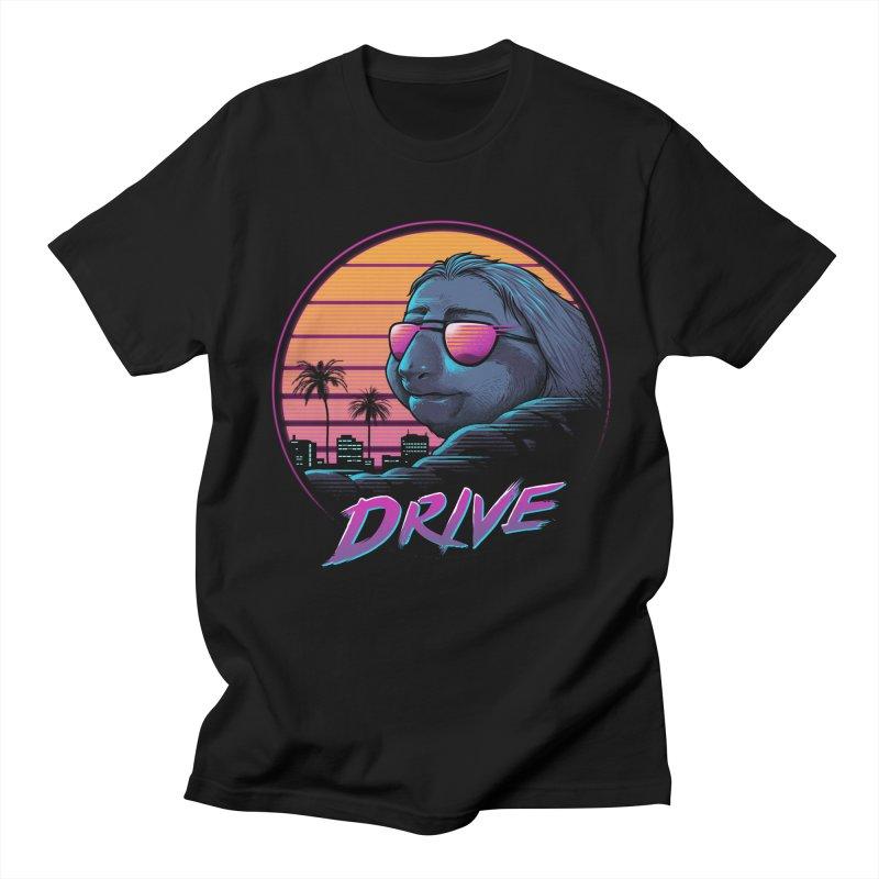 Slow Drive Men's Regular T-Shirt by Vincent Trinidad Art