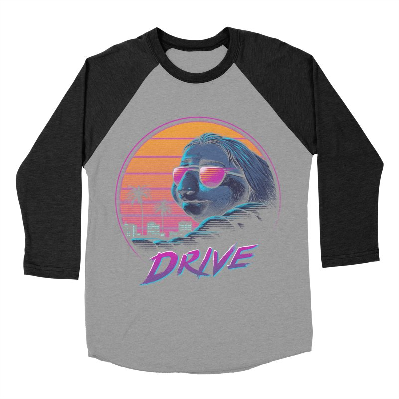 Slow Drive Women's Baseball Triblend Longsleeve T-Shirt by Vincent Trinidad Art