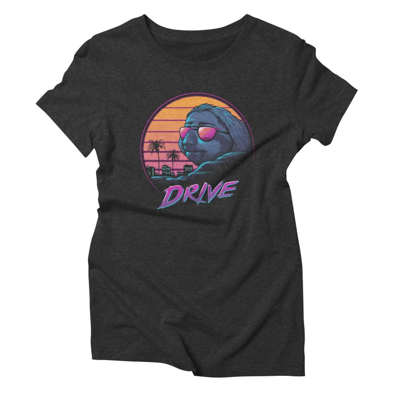 Slow Drive Women's Triblend T-Shirt by Vincent Trinidad Art