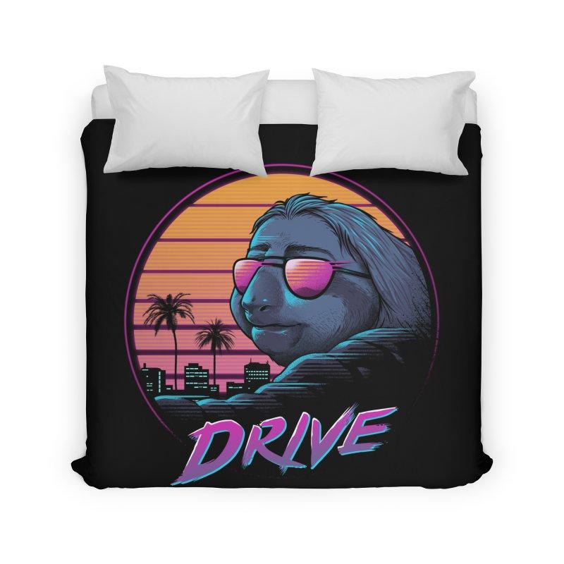 Slow Drive Home Duvet by Vincent Trinidad Art