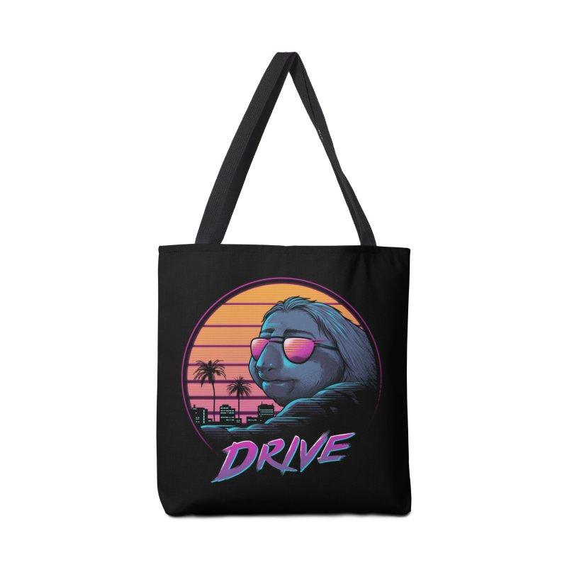Slow Drive Accessories Tote Bag Bag by Vincent Trinidad Art