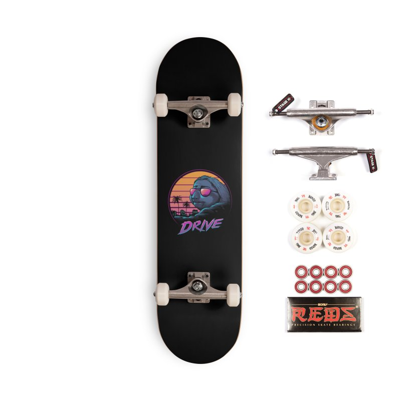 Slow Drive Accessories Complete - Pro Skateboard by Vincent Trinidad Art