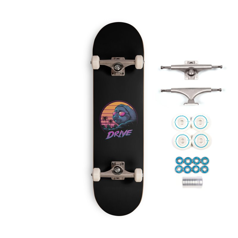 Slow Drive Accessories Complete - Basic Skateboard by Vincent Trinidad Art