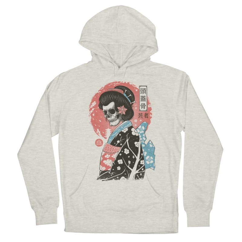 Yokai Geisha Men's French Terry Pullover Hoody by Vincent Trinidad Art