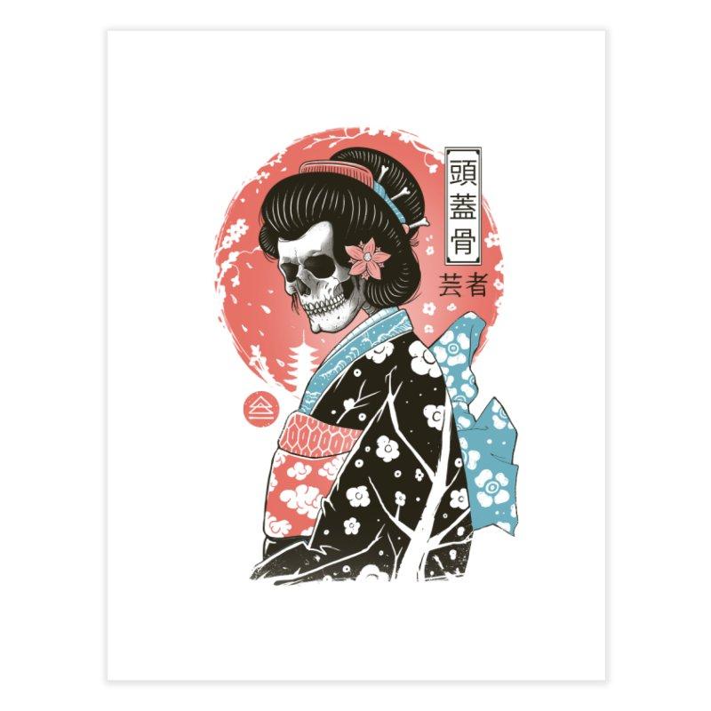 Yokai Geisha Home Fine Art Print by Vincent Trinidad Art