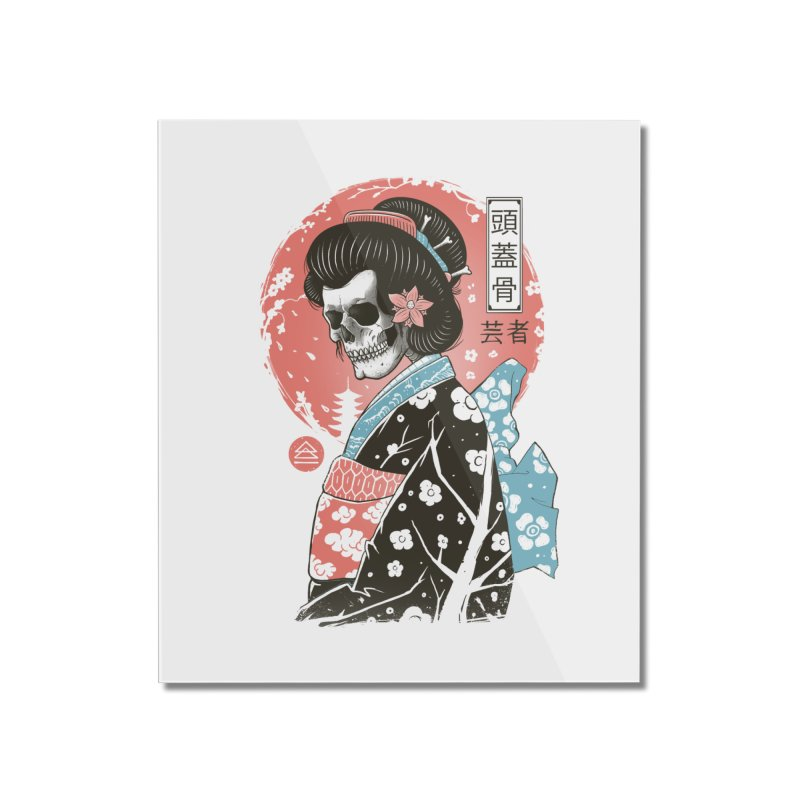 Yokai Geisha Home Mounted Acrylic Print by Vincent Trinidad Art
