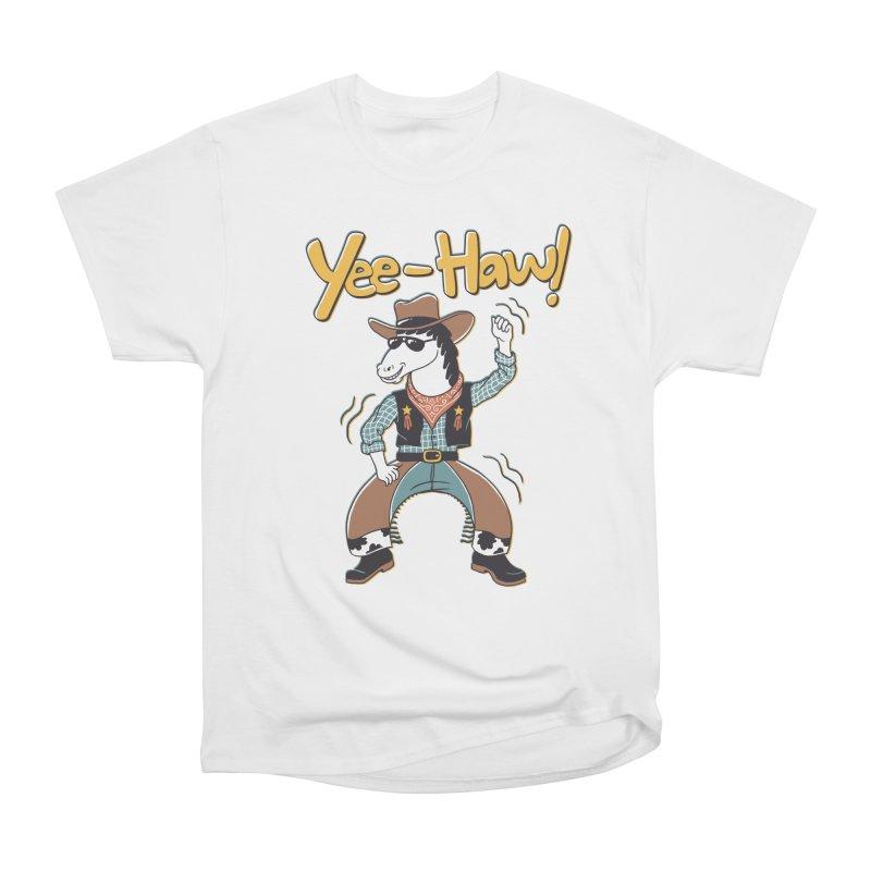 Horsing Around Men's Heavyweight T-Shirt by Vincent Trinidad Art